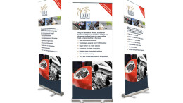 Roll-up Banner Regent Bike Tracker