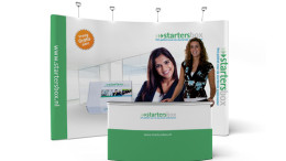 Pop-up stand De Startersbox