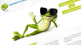Website Zwembad De kikker